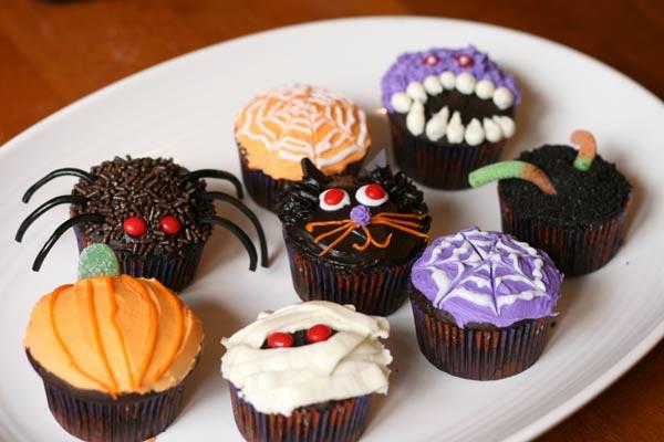 Cupcakes Para Halloween  Fichas de Inglés para niños Halloween cupcakes
