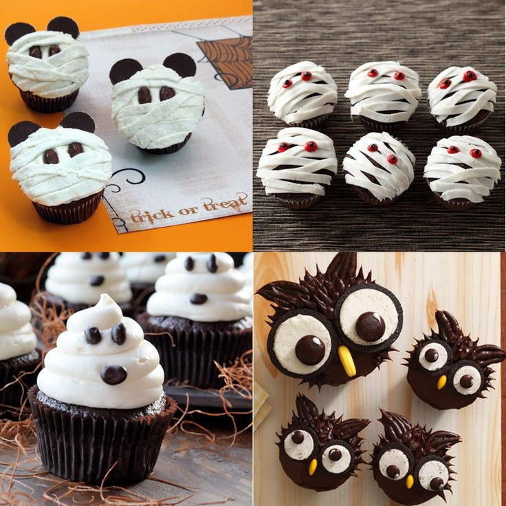 Cupcakes Para Halloween  45 best images about Recetas Halloween on Pinterest