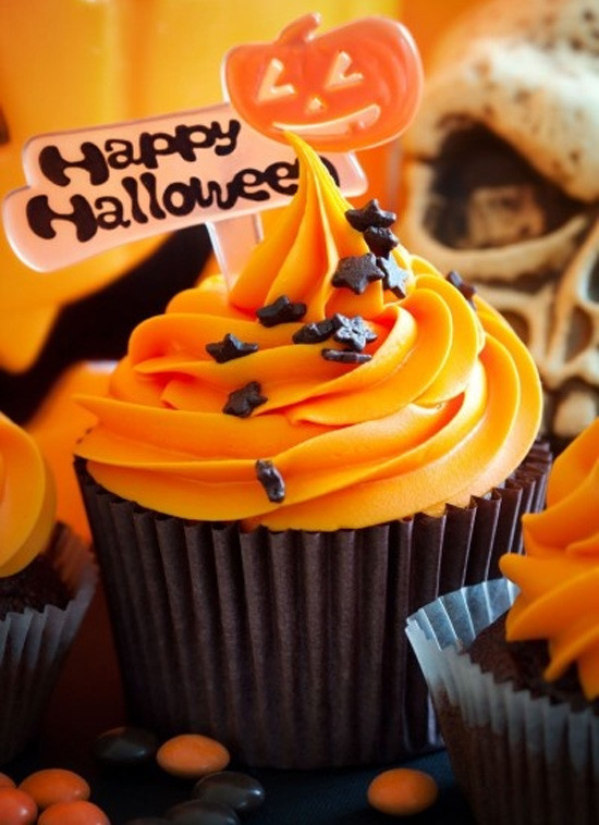 Cupcakes Para Halloween  Cupcakes de Halloween Blog de Hogarmania