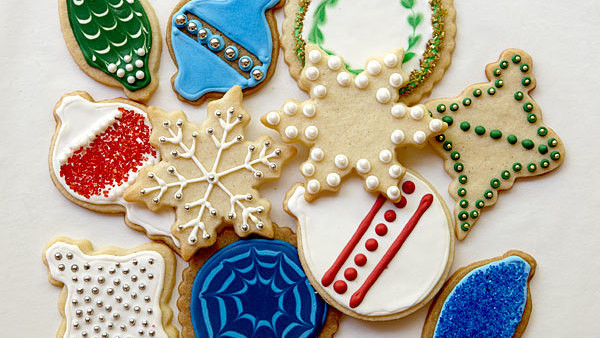 Cut Out Christmas Cookies  Vanilla Cut Out Cookies Recipe FineCooking