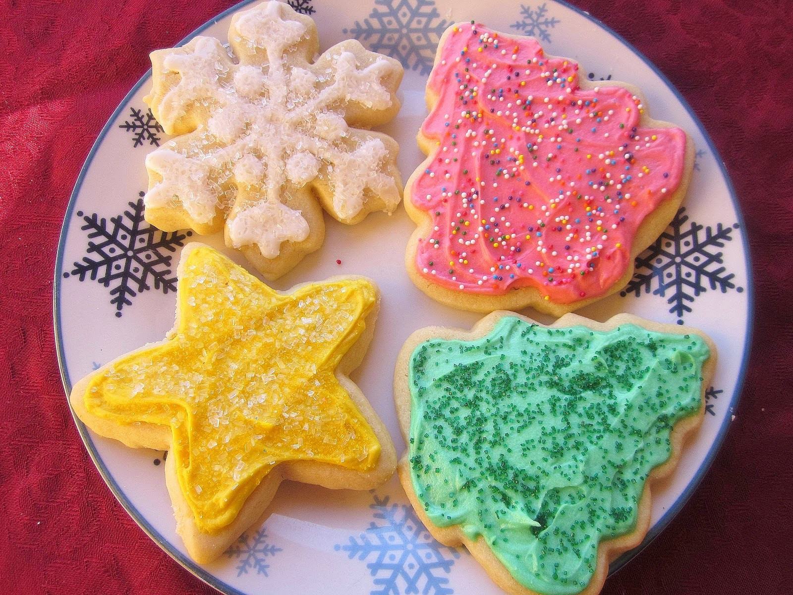 Cut Out Christmas Cookies  Dimples & Delights Soft & Thick Cut Out Sugar Cookies