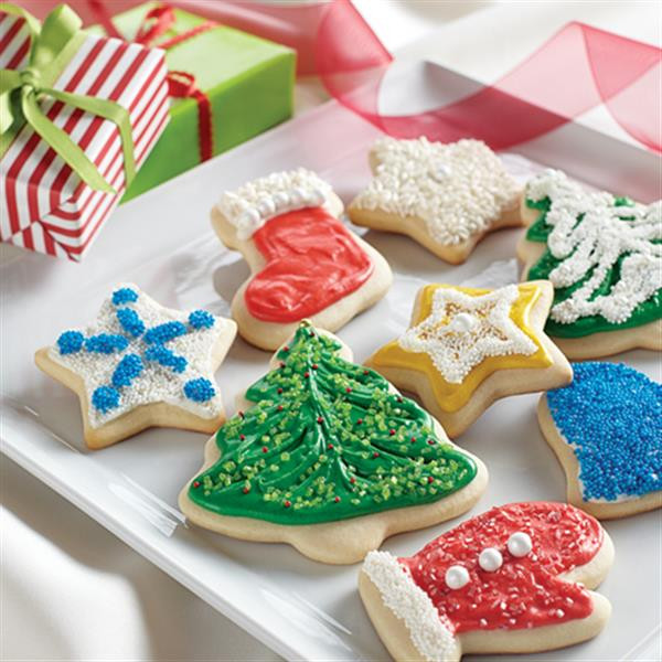 Cut Out Christmas Cookies  Holiday Cut Out Cookies