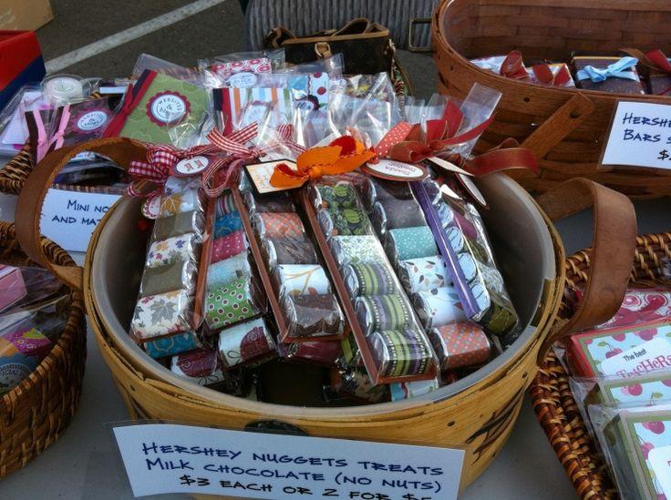 Cute Christmas Candy Ideas  Hershey Chocolate Nug s cute teacher t idea ybe