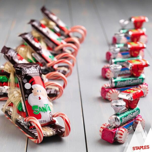 Cute Christmas Candy Ideas  1000 ideas about Christmas Candy Gifts on Pinterest