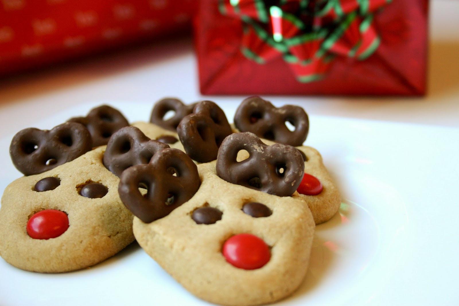 Cute Christmas Cookies Recipes  Reindeer Cookies Recipe