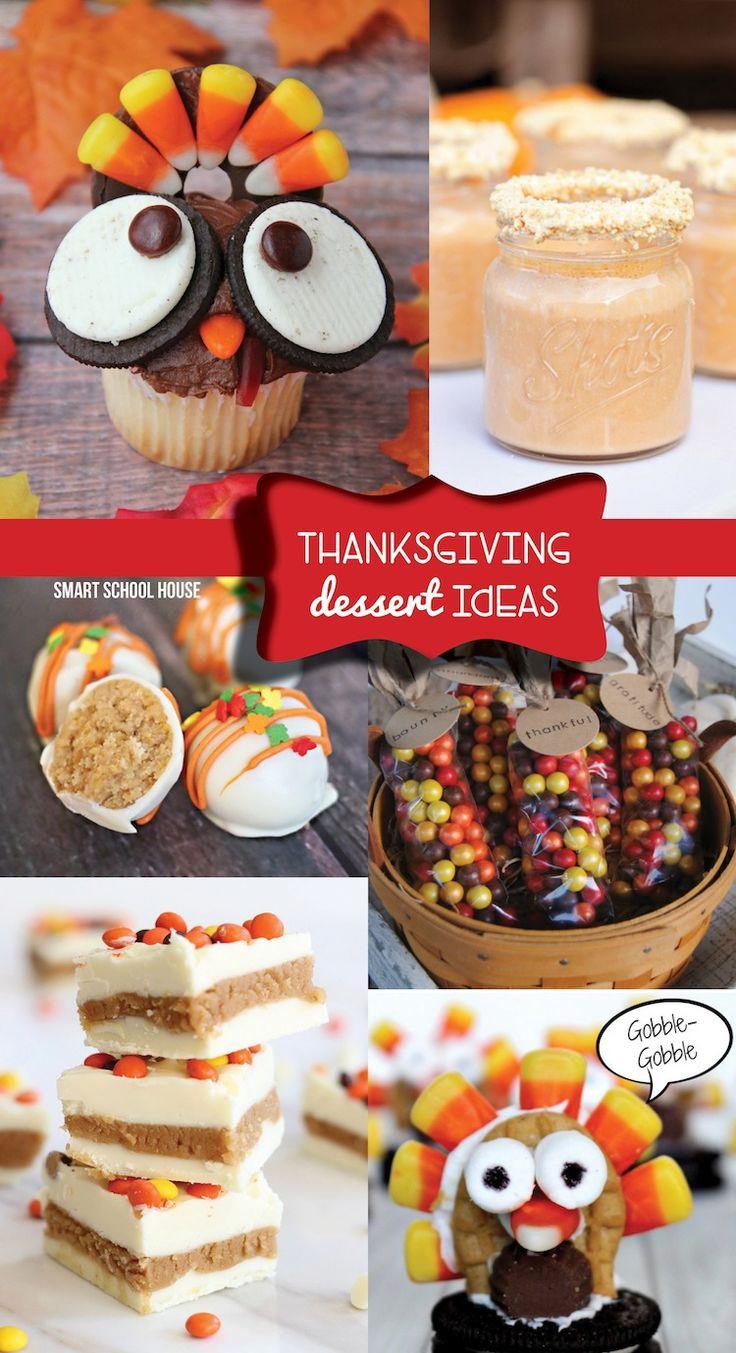 Cute Easy Thanksgiving Desserts  Thanksgiving Dessert Ideas