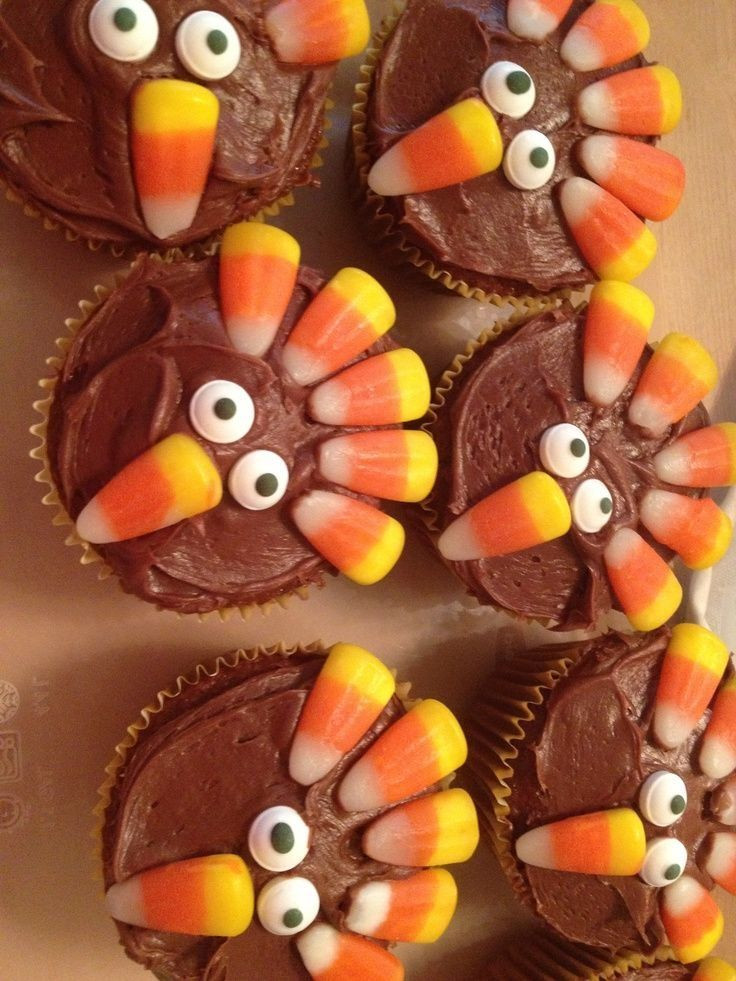 Cute Easy Thanksgiving Desserts  Thanksgiving Cupcakes s and for