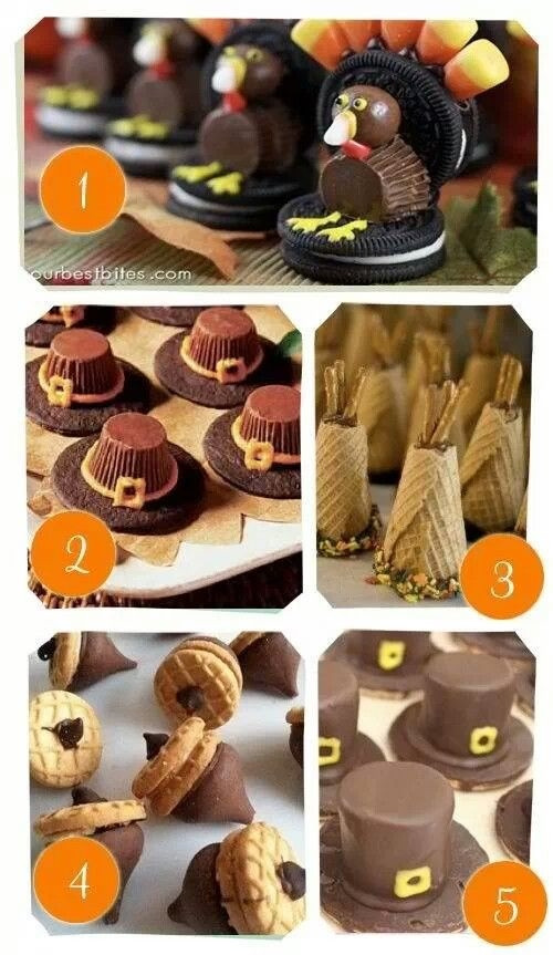 Cute Easy Thanksgiving Desserts  DIY Thanksgiving Treats s and for