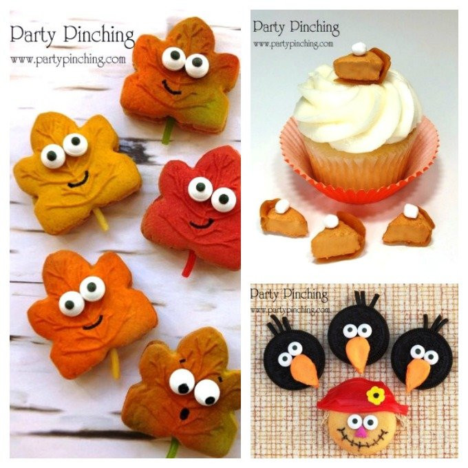 Cute Fall Desserts  Fall Tree Rice Krispie Treats Fun Thanksgiving Dessert