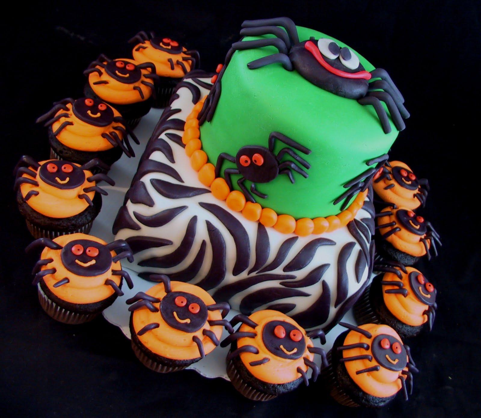 Cute Halloween Cakes  the queen of halloween SPIDER CAKE