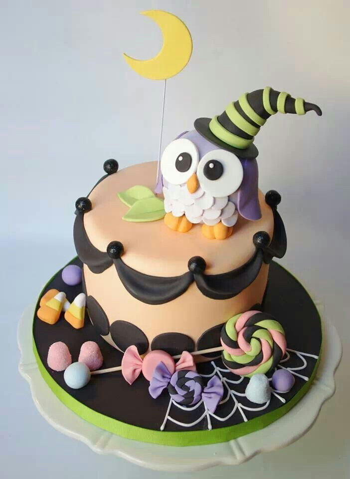 Cute Halloween Cakes  918 best Halloween Cakes images on Pinterest