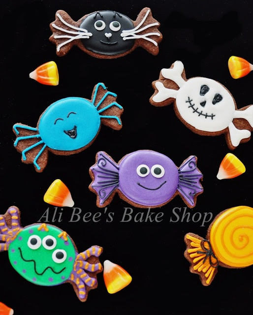 Cute Halloween Cookies  Holidays & Party HoliCoffee