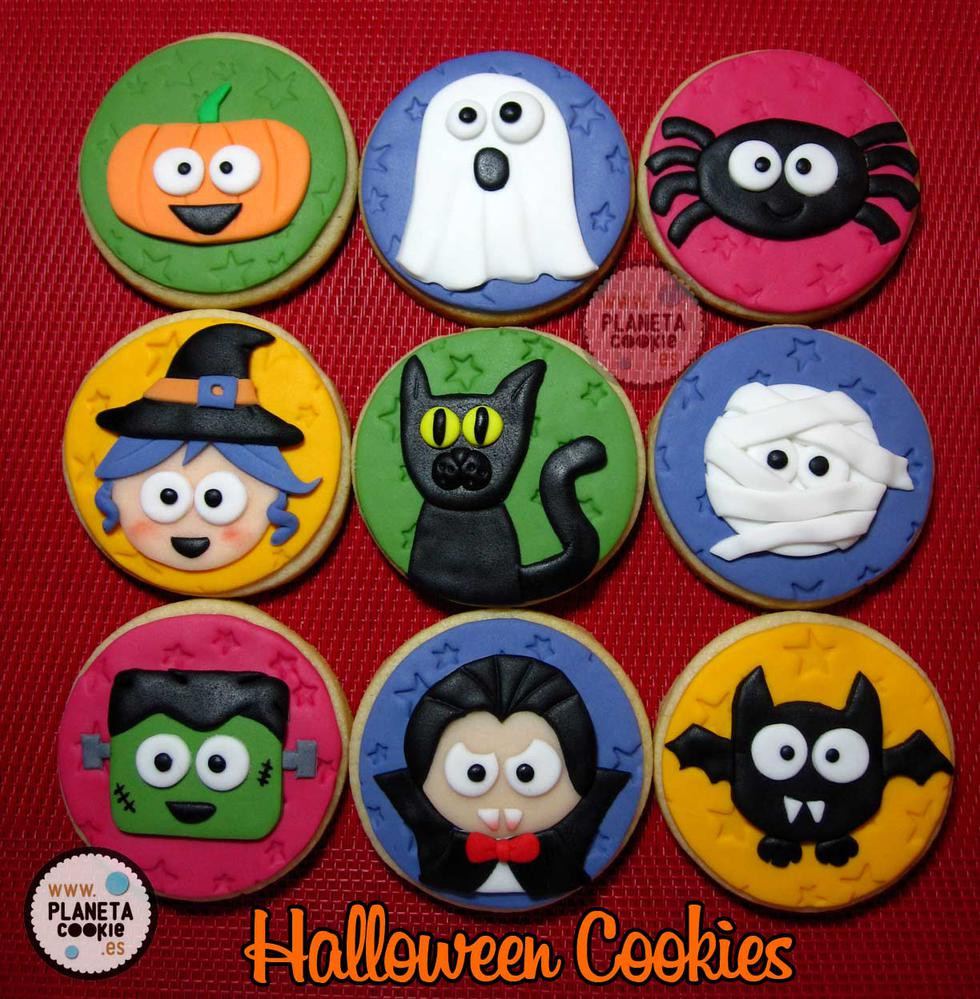 Cute Halloween Cookies  Cute Halloween Cookies