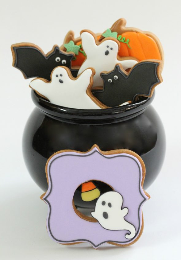 Cute Halloween Cookies  Can you use anything besides egg whites or meringue powder