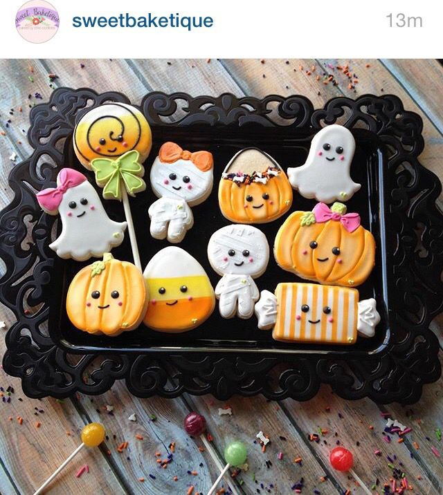 Cute Halloween Cookies  1000 images about Cookie Ideas on Pinterest