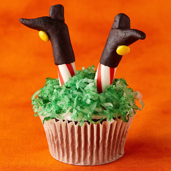 Cute Halloween Cupcakes  cute halloween foods