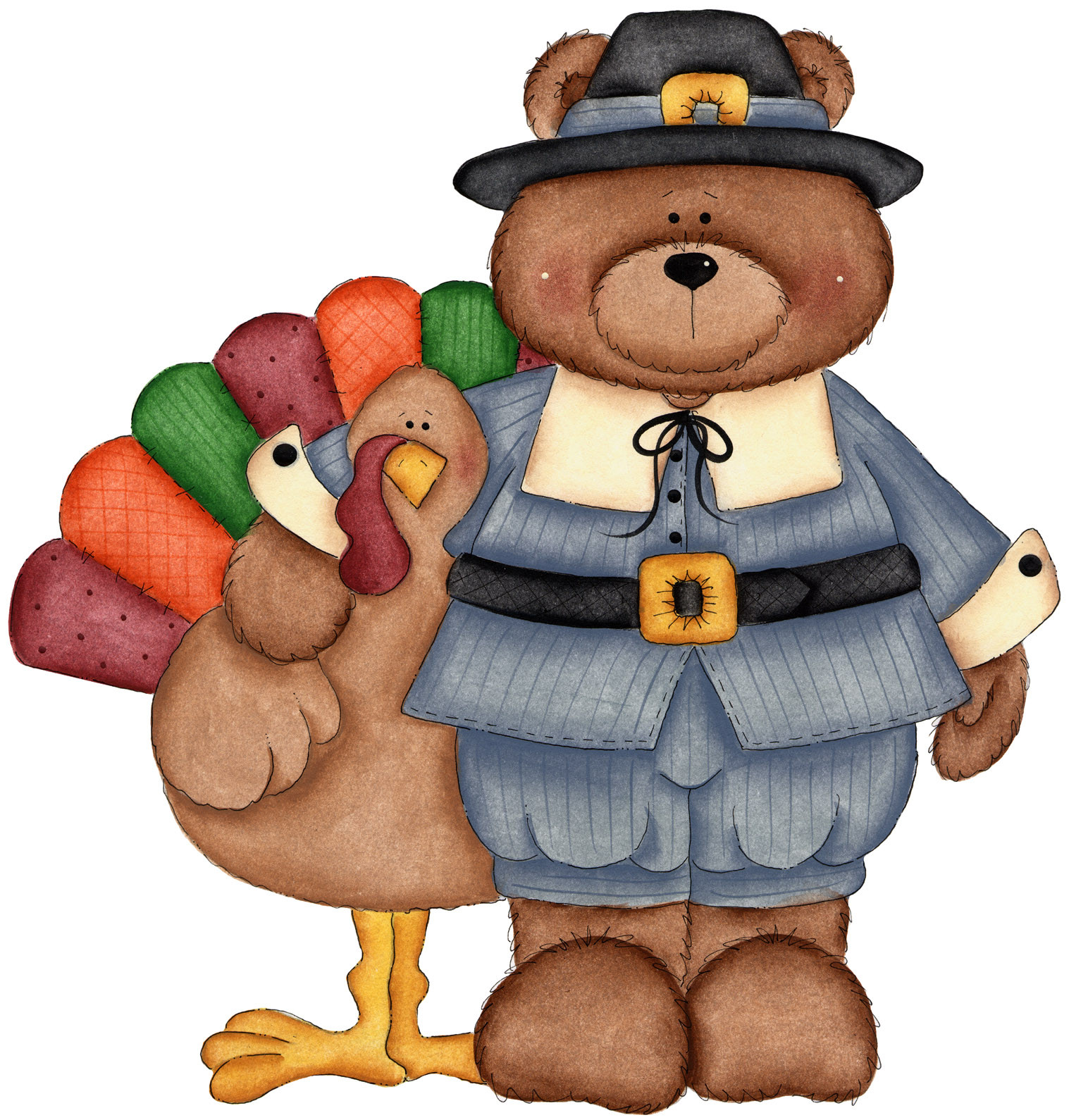 Cute Thanksgiving Turkey  Cute Turkey Clip Art ClipArt Best