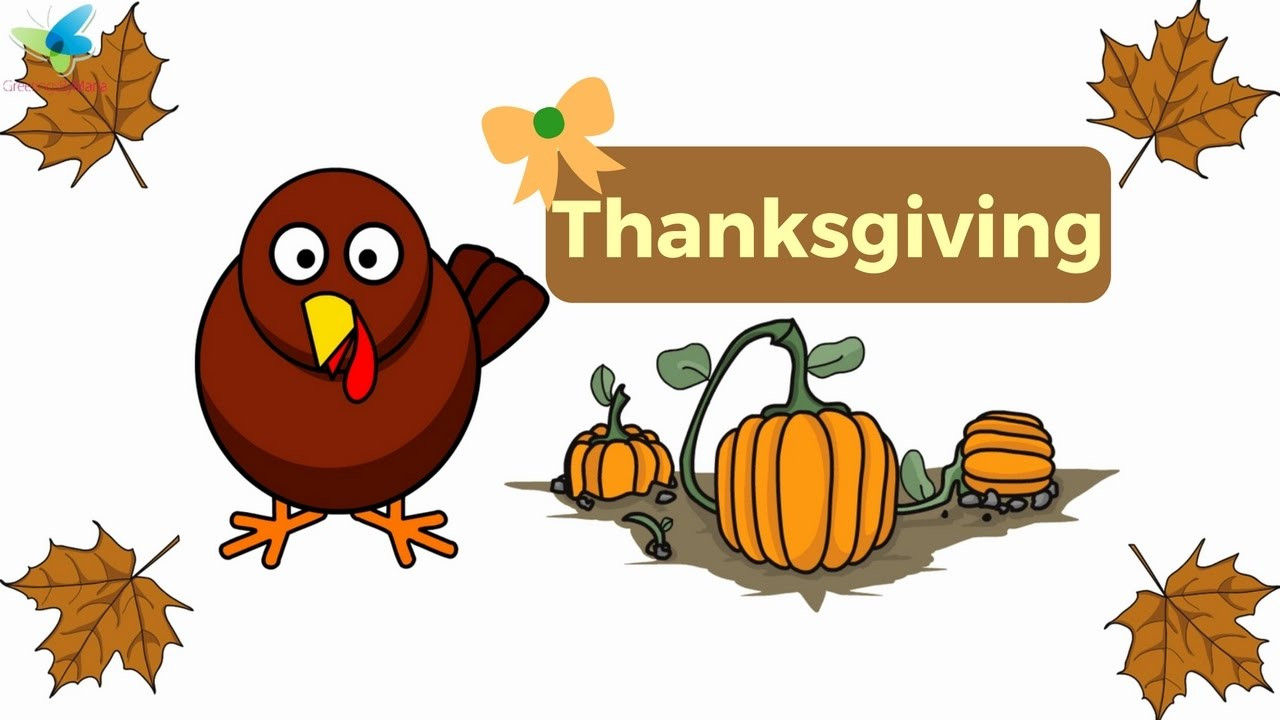 Cute Thanksgiving Turkey  Cute Thanksgiving Turkey Animation