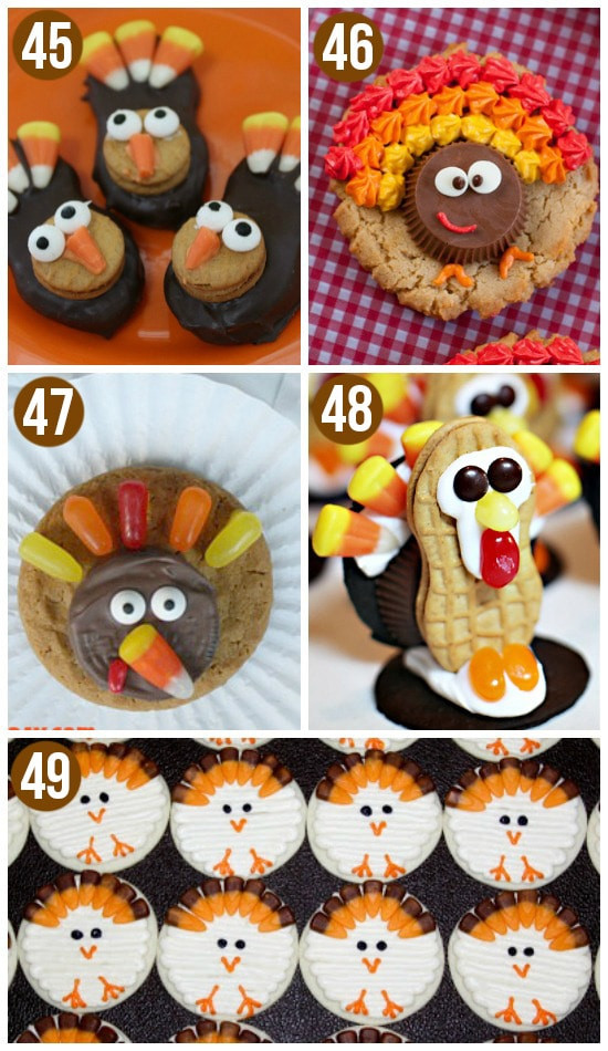 Cute Thanksgiving Turkey  50 Fun Thanksgiving Food Ideas & Turkey Treats The