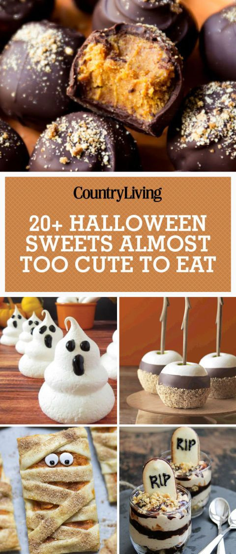 Cutest Halloween Desserts  642 best images about Halloween Food and Treats on