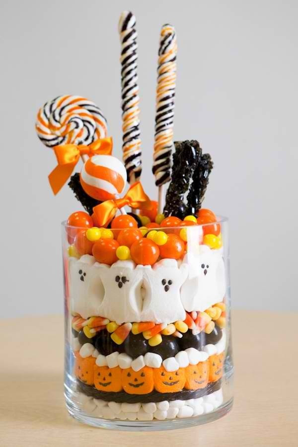 Cutest Halloween Desserts  Cute Halloween jar o treats Halloween
