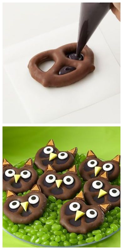 Cutest Halloween Desserts  Best 25 Owl cakes ideas on Pinterest