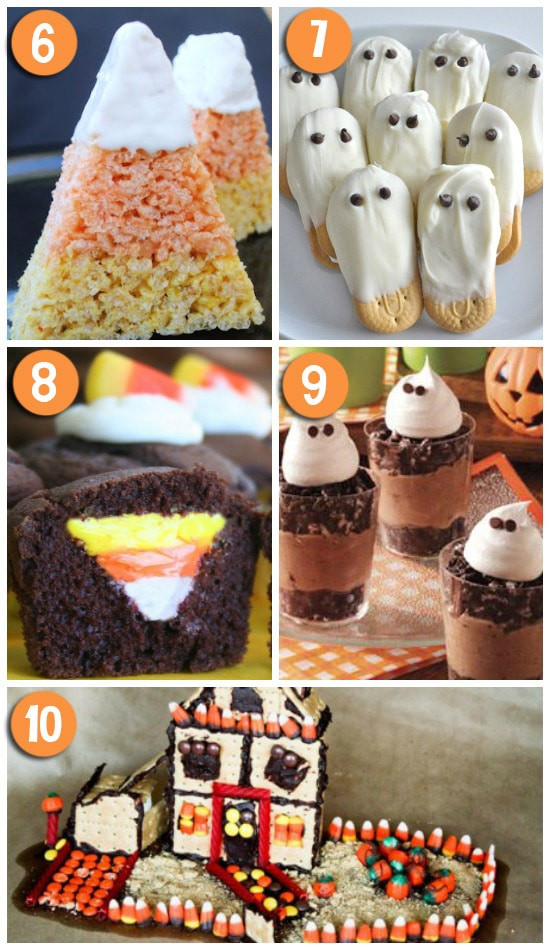 Cutest Halloween Desserts  50 FUN Halloween Foods
