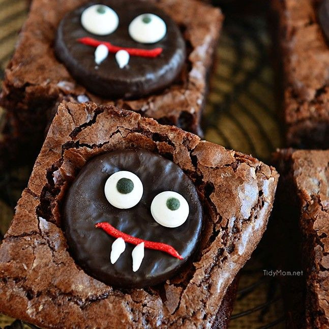 Cutest Halloween Desserts  74 best Halloween images on Pinterest