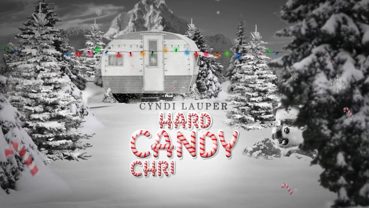 Cyndi Lauper Hard Candy Christmas  CYNDI LAUPER HARD CANDY CHRISTMAS OFFICIAL LYRICS FT