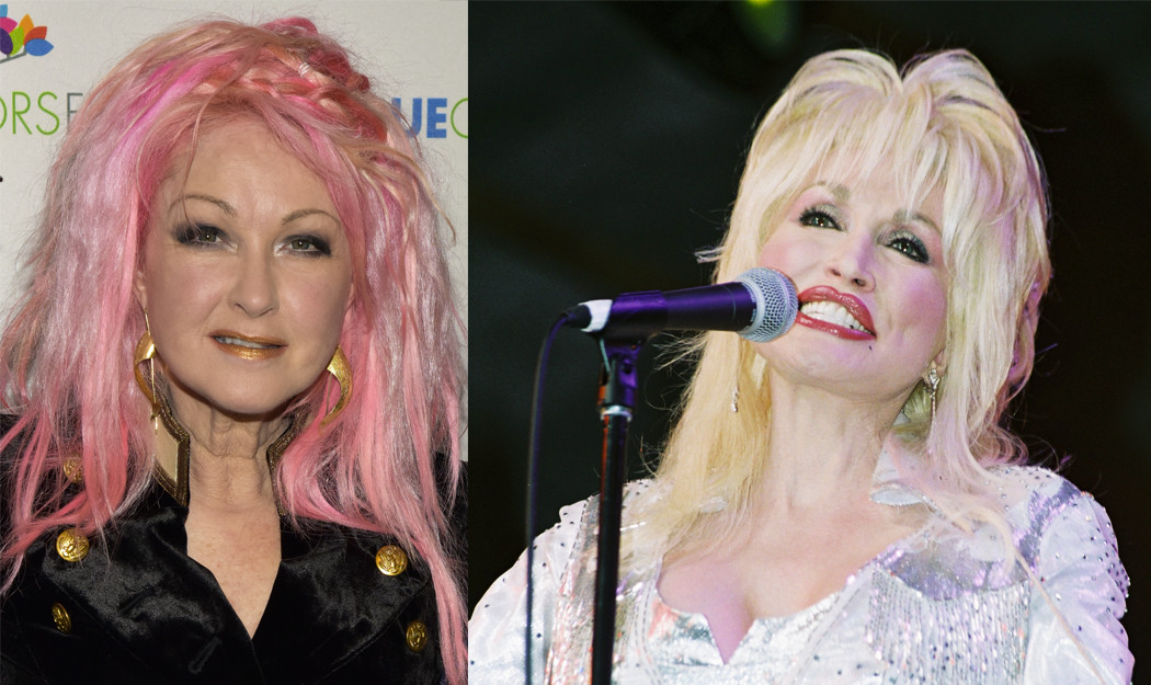 """Cyndi Lauper Hard Candy Christmas  Cyndi Lauper Spectacularly Covers Dolly Parton s """"Hard"""