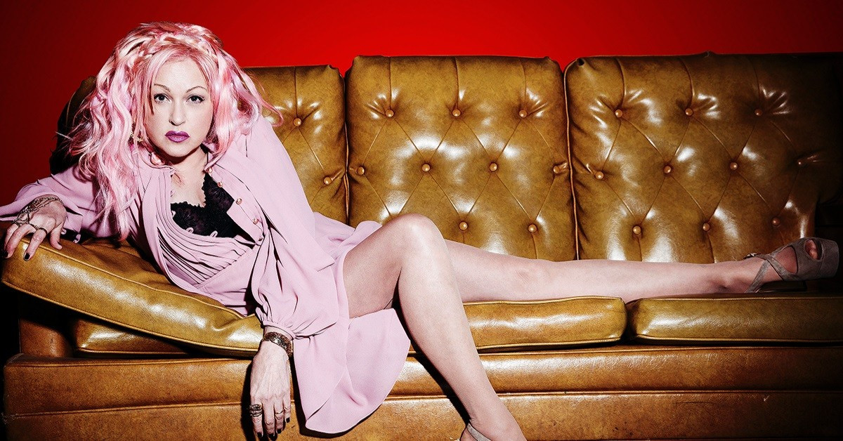 Cyndi Lauper Hard Candy Christmas  Pop Singer Cyndi Lauper Revisits Country Classics on Her