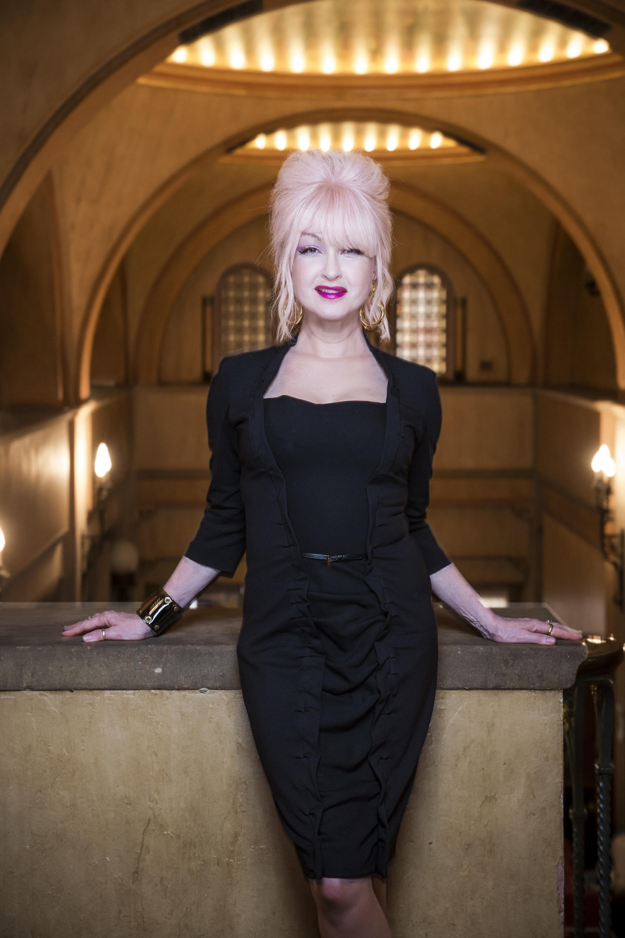 Cyndi Lauper Hard Candy Christmas  Hear Cyndi Lauper Cover Dolly Parton's 'Hard Candy