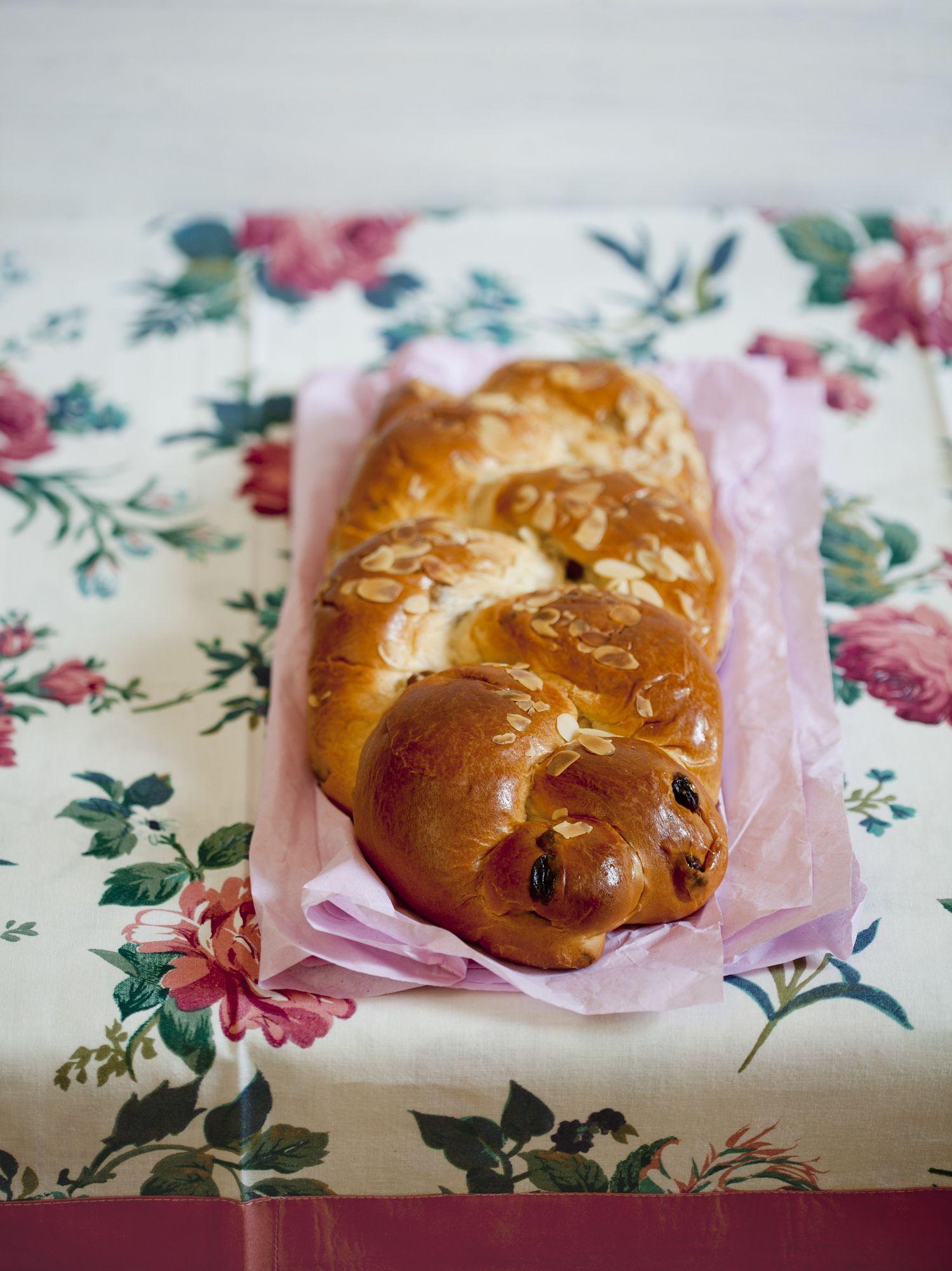 Czech Christmas Bread  Czech Braided Christmas Bread Vanocka Recipe