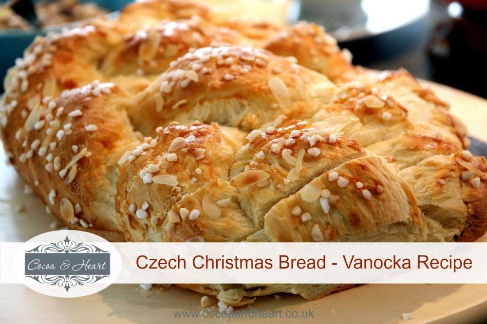 Czech Christmas Bread  Vanocka Recipe Traditional Czech Christmas Sweet Bread