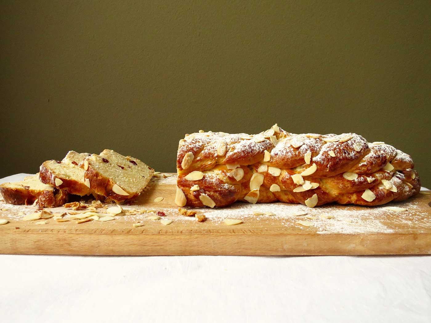 Czech Christmas Bread  CZECH CHRISTMAS BREAD VÁNOČKA What Sarah Bakes