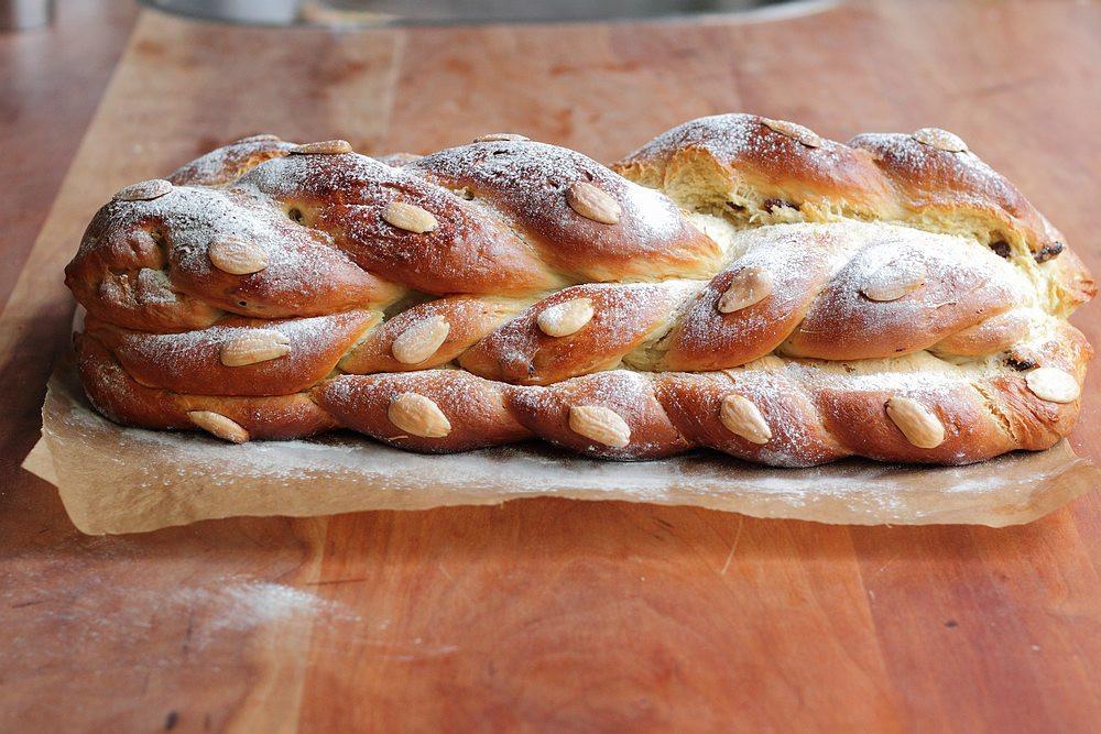Czech Christmas Bread  Vanocka the sweet Czech Christmas bread