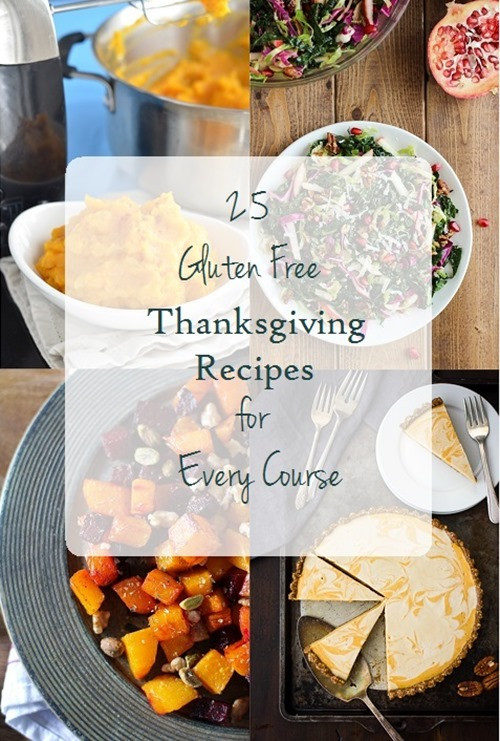 Dairy Free Thanksgiving Recipes  25 Gluten free Thanksgiving Recipes for Every Course