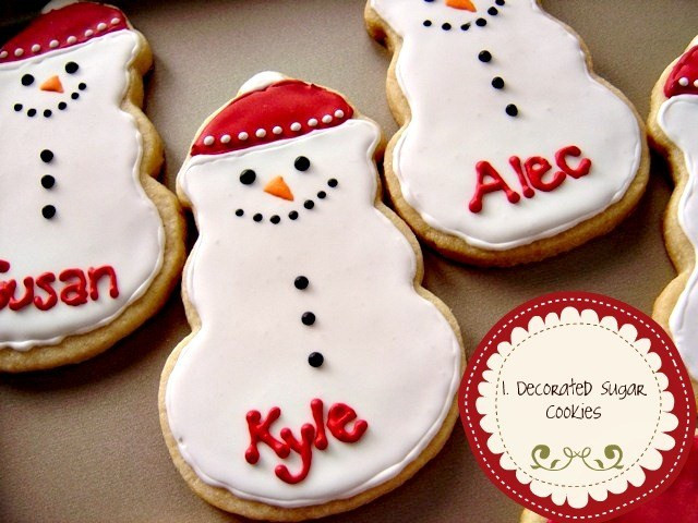 Decorated Christmas Cookies Recipes  Christmas Cookies Decorating Icing Recipe
