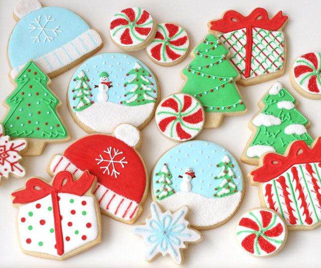 Decorated Christmas Cookies Recipes  Decorated Christmas Cookies – Glorious Treats