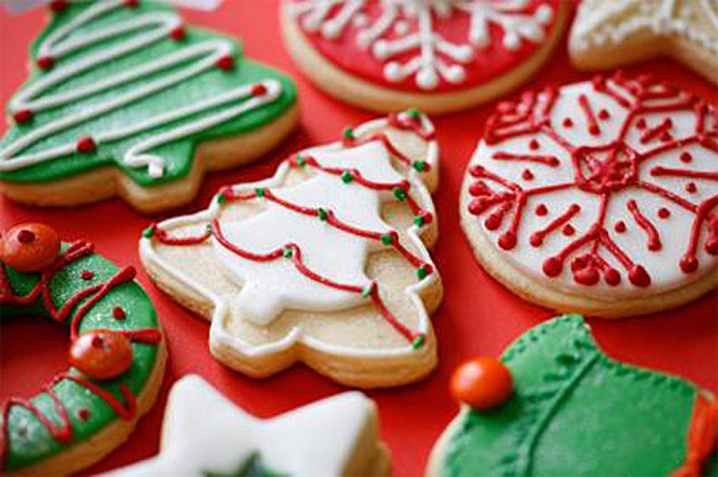 Decorated Christmas Cookies Recipes  Easy Christmas Cookies Decorating Ideas DIY