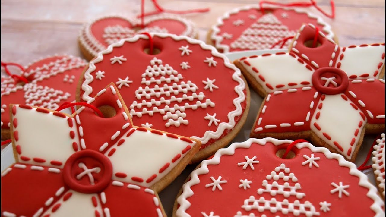 Decorating Christmas Cookies  How To Decorate Christmas Cookie Ornaments Day 3 of the