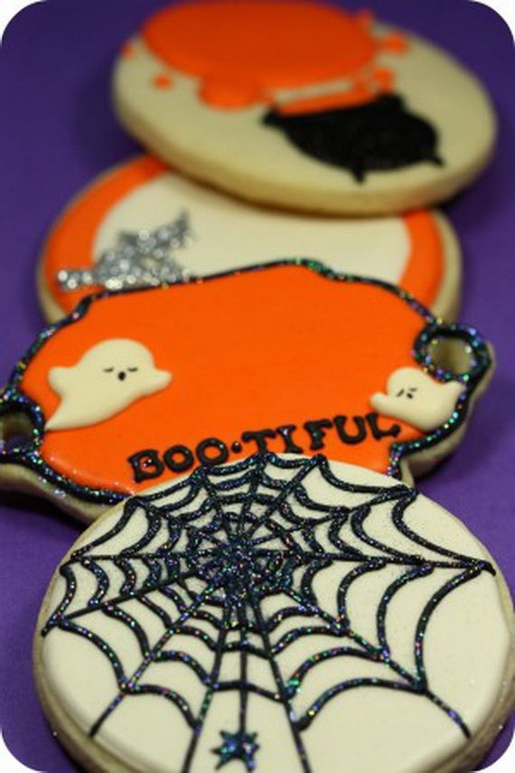Decorating Halloween Cookies  45 Fabulous Fall Cakes and Cupcakes Decorating Ideas for
