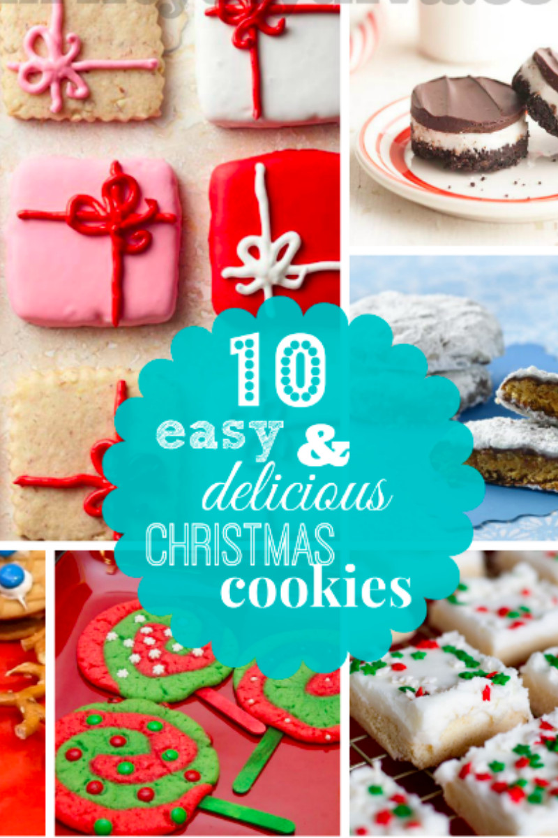 Delicious Christmas Cookies  10 Easy and Delicious Christmas Cookies Recipes and Ideas