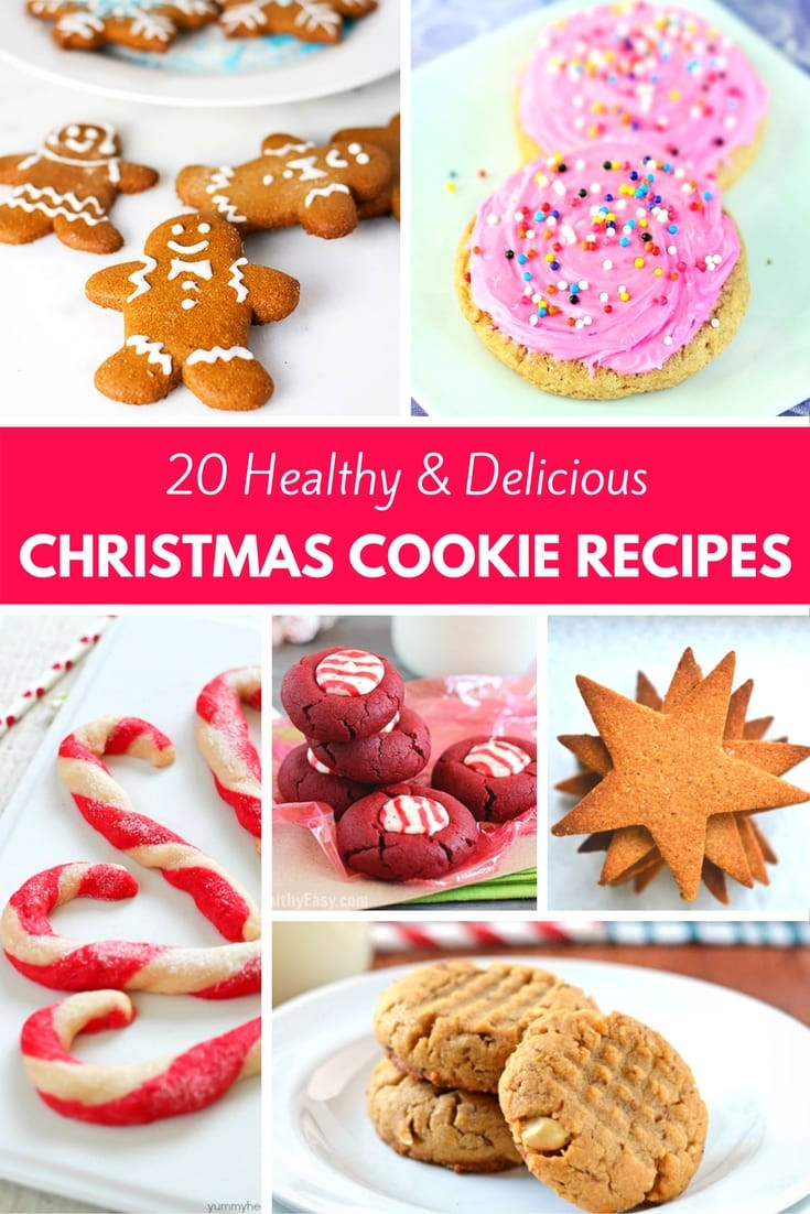 Delicious Christmas Cookies  20 Healthy & Delicious Christmas Cookie Recipes PinkWhen