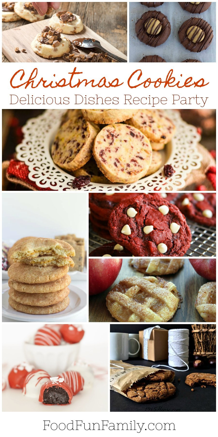 Delicious Christmas Cookies  Favorite Christmas Cookie Recipes – Delicious Dishes