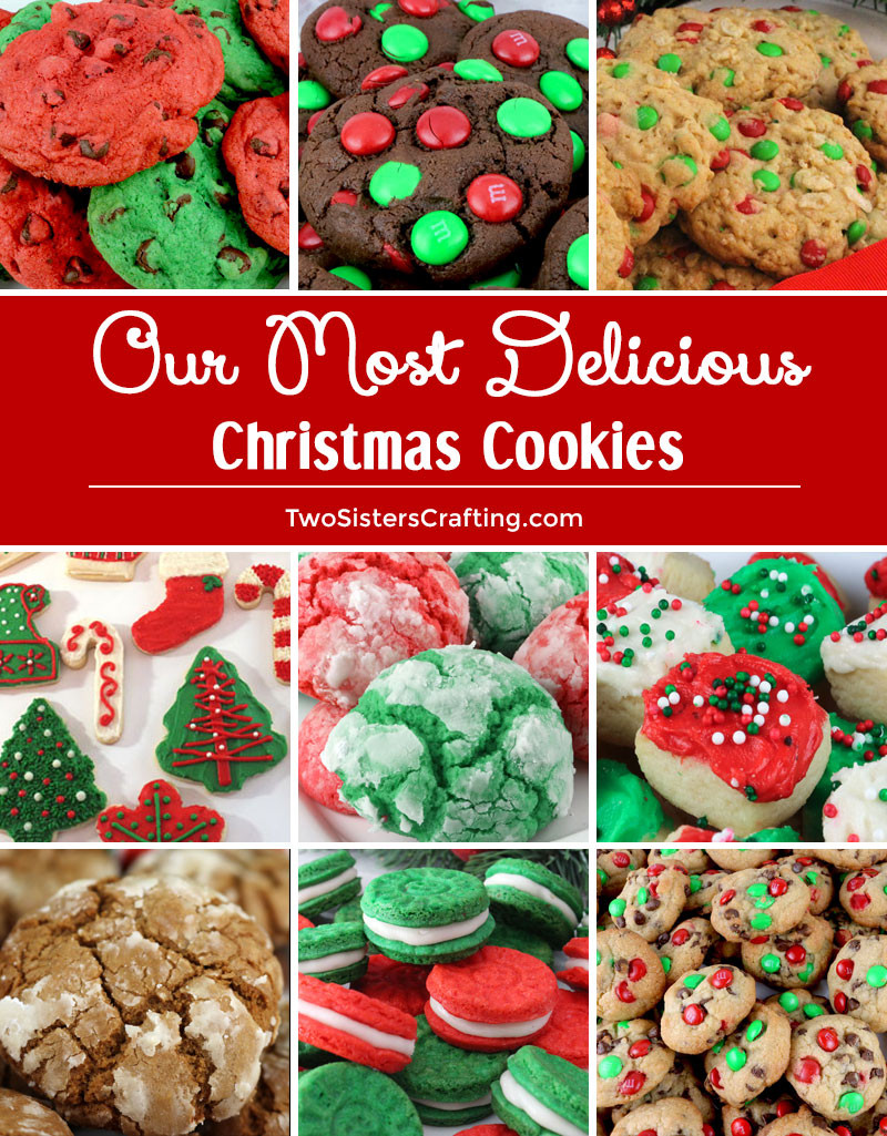 Delicious Christmas Cookies  Our Most Delicious Christmas Cookies Two Sisters