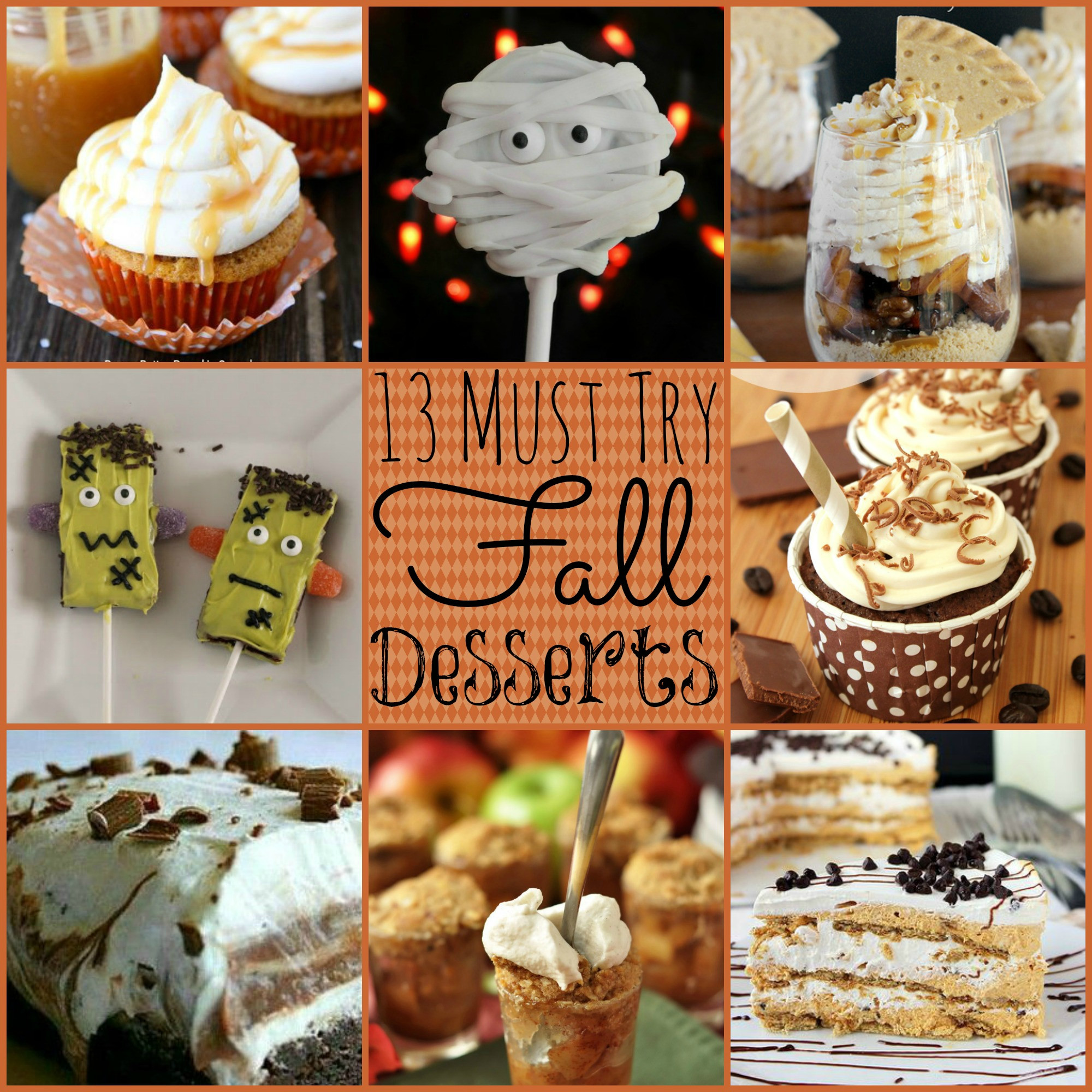 Desserts For Fall  13 Must Try Fall Desserts
