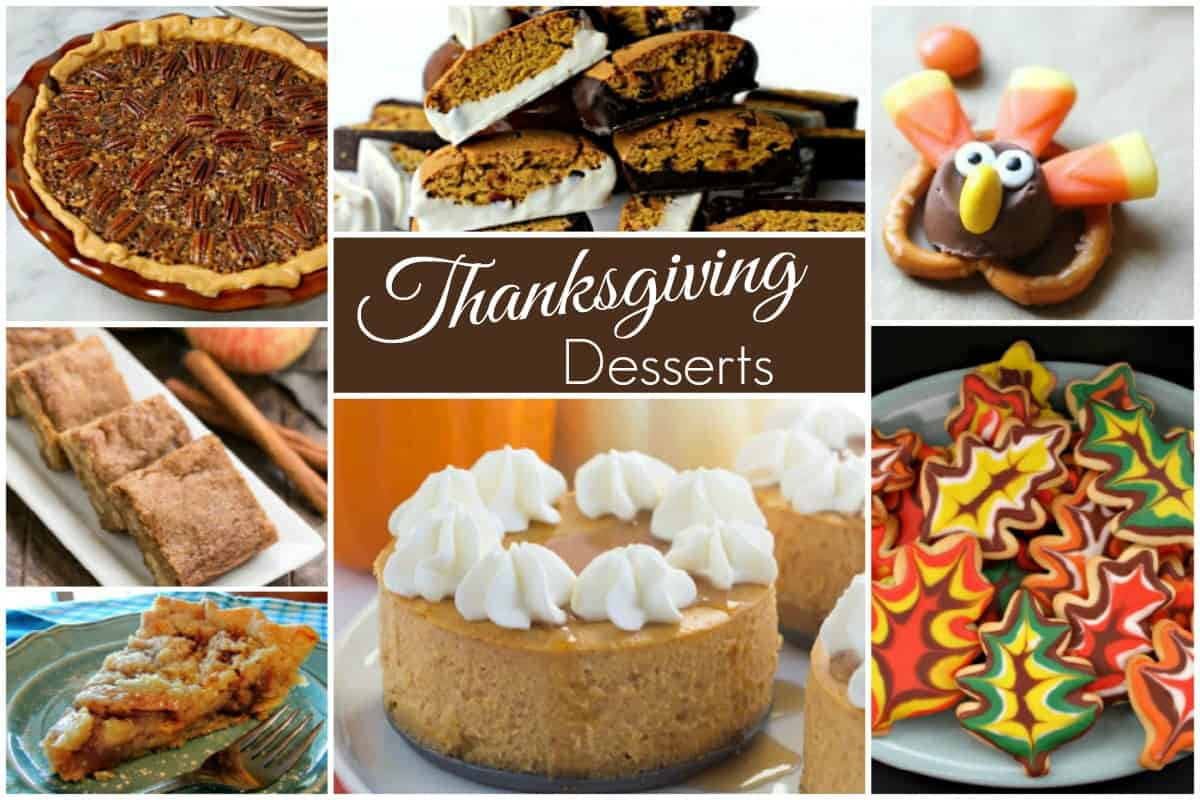 Desserts For Thanksgiving  Thanksgiving Desserts and our Delicious Dishes Recipe Party