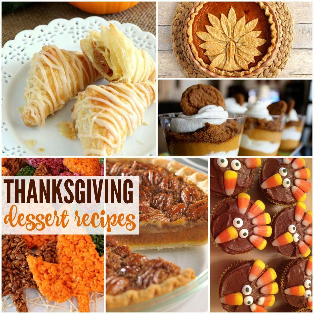 Desserts For Thanksgiving Dinner  Easy Thanksgiving Dessert Recipes