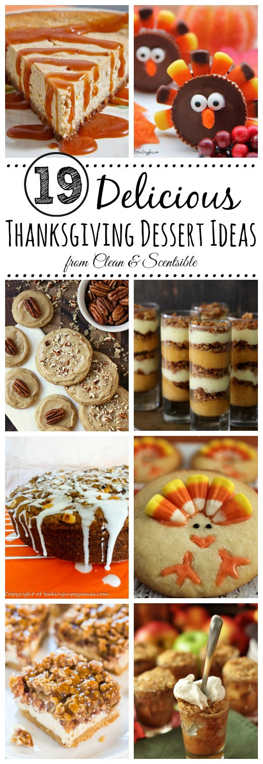 Desserts For Thanksgiving Dinner  Delicious Thanksgiving Desserts Clean and Scentsible
